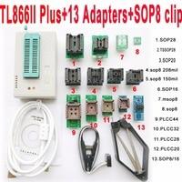 V7 11 XGecu TL866II Plus Programmer 13 Adapters Socket TL866ii 1 8V Nand Flash 24 93