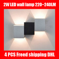 LED wall light modern 4 piece wall decor 220v lamp cottage bedroom vanities home lighting and lamps for home modern bed