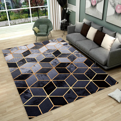 Nordic Style Geometric Marble Pattern Carpet Living Room Rug Sofa Coffee Table Mat Bedroom Yoga Pad Rectangular Bedside BlanketNordic Style Geometric Marble Pattern Carpet Living Room Rug Sofa Coffee Table Mat Bedroom Yoga Pad Rectangular Bedside Blanket