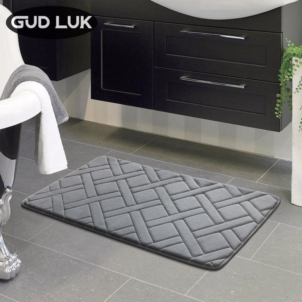 High Quality 40x60cm rectangl Bath Mat Bathroom Bedroom Non slip Mats Foam Rug Shower Carpet for