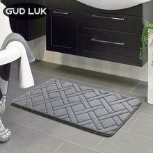 Высокое качество 40×60 см rectangl коврик для ванной Ванная комната Спальня Нескользящие коврики пены коврик для ванной комнаты для ванной, кухни, спальни ZA-002