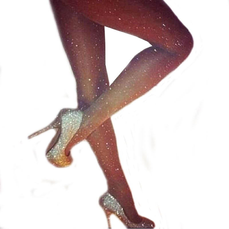 SCECENT Women Tights Sexy Charming Shiny Pantyhose Glitter Girl Glossy Stockings Elastic Slimming Nylon Collant Womens Stocking