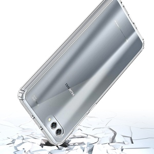 Image 3 - Soft Silicon TPU/PC Case for Huawei Honor View 10 Luxury Fundas Capa Shockproof Shell Clear Hard Back Cover for Huawei Honor V10