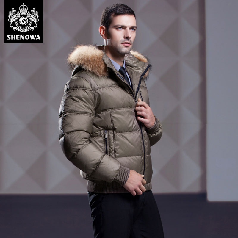 c8277c6824e49 winter parka duck fur coat mens puffer 2016 New down coat Business Thicken  Gold winter jacket men dress-in Down Jackets from Men s Clothing on ...