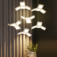 Постмодерн минималистский гостиная лампы персонализированные Art офисные светильники светодиодные исследование приспособление освещения