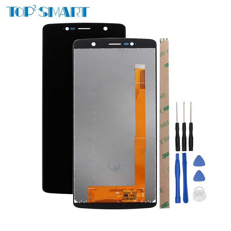 Top Quality For <font><b>Ulefone</b></font> <font><b>Power</b></font> <font><b>5</b></font> LCD Display Touch <font><b>Screen</b></font> For Power5 Digitizer Assembly Repair Parts For Ulefone5 free tool image