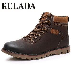 KULADA Boots Men Super Warm Hi