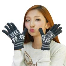 New style omens Knitted Fringe Warm Gloves Selection of fine woolen yarn comfortable soft Acrylic Fibers 2017 vicky