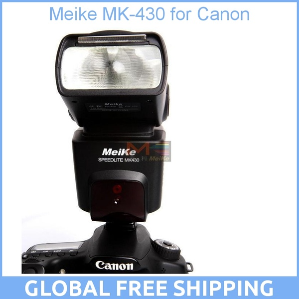 Meike MK-430 MK430 TTL Flash Speedlite for All Canon Camera 430EX II EOS 5D III 6D 60D 450D 500D 550D 600D 650D 700D 1000D 1100D цена