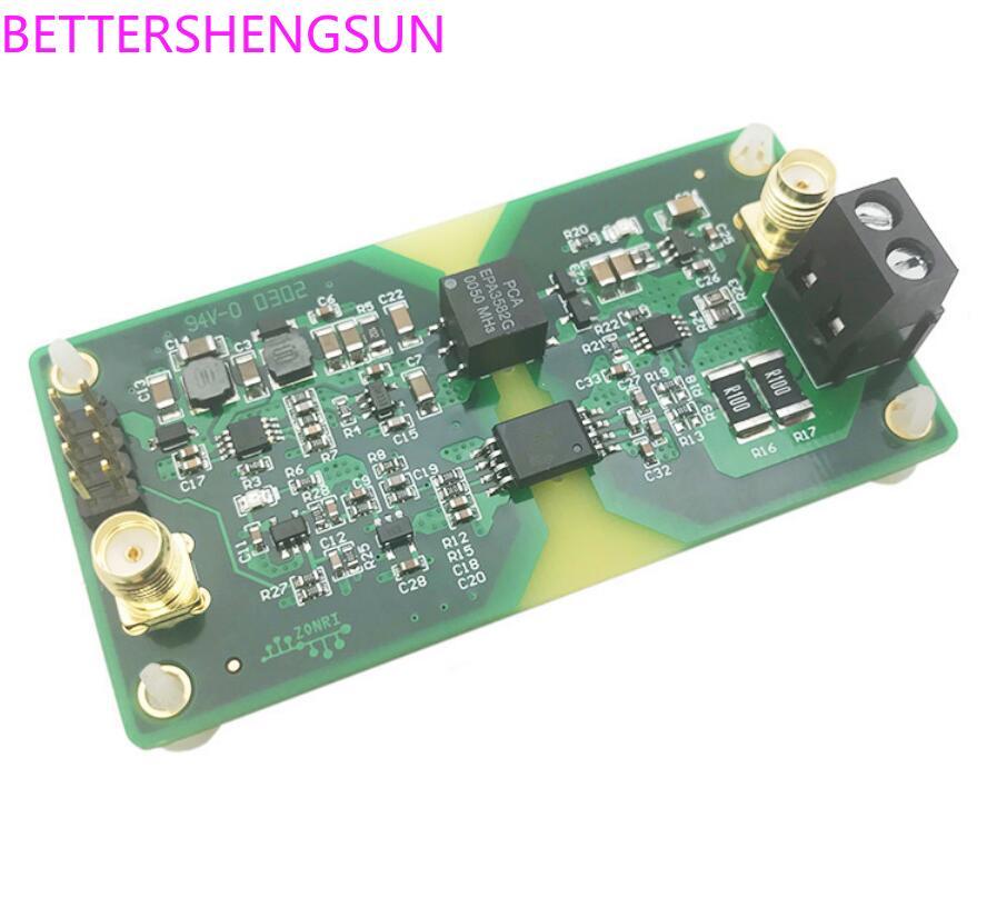 High Precision Analog Voltage / Current Signal Isolation Module AMC1301  200KHz Bandwidth ISO
