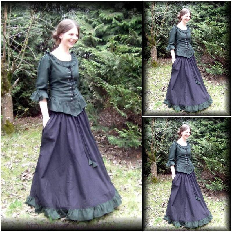 Pada jualan pelanggan Vintage Costumes Pakaian Victorian 1860s Perang - Kostum karnival