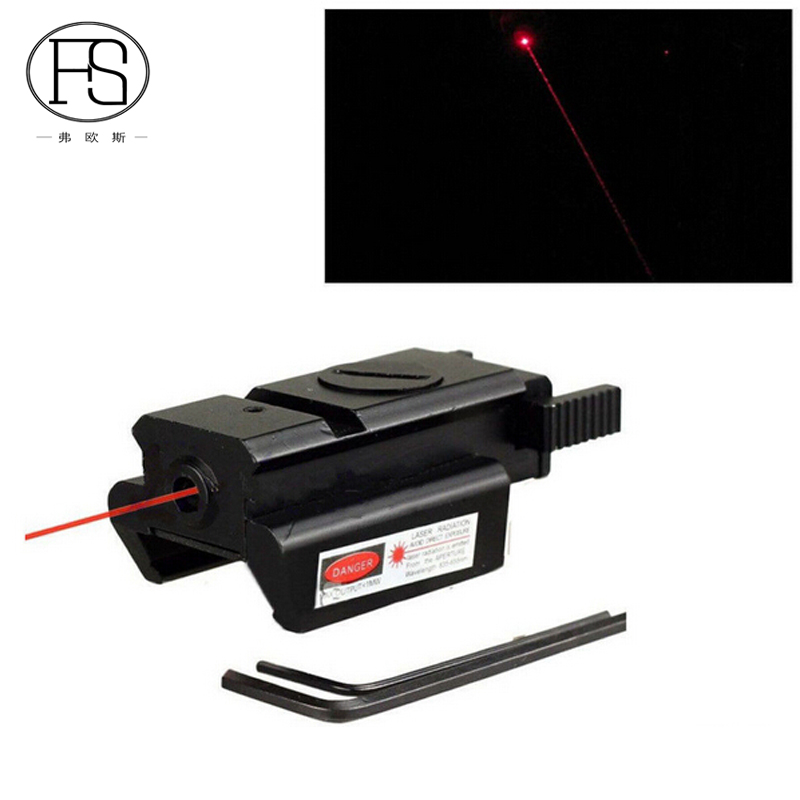 Hunting Rifle Red Dot Laser Sight Airsoft Pistol Red Dot Laser Scope Suit For 20mm Picatinny Rail Tactical Handgun Laser Sight