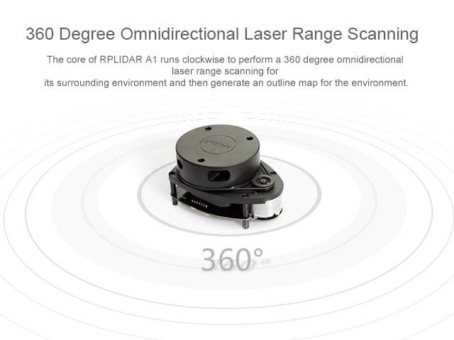 FZ3296 RPLiDAR A1 Sensor