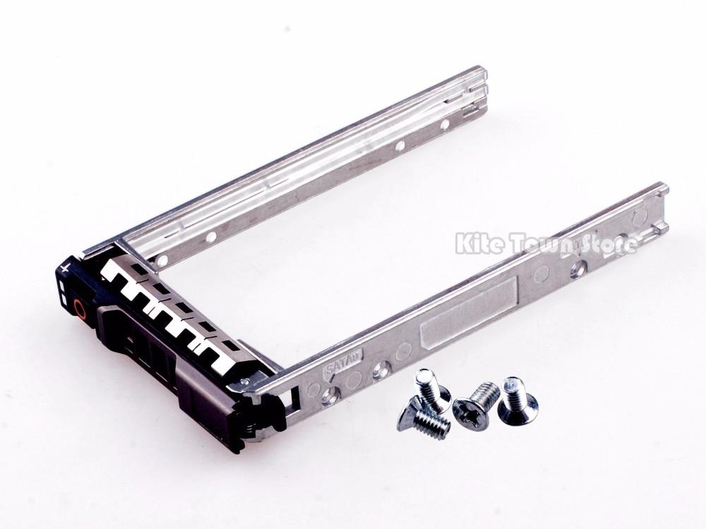 New G176J SAS SATA Tray Caddy For Dell 2.5 R710 R410 R610 T310 T320 T410 T420 T610 T620 T710 M600 M710 M600 M605 M805