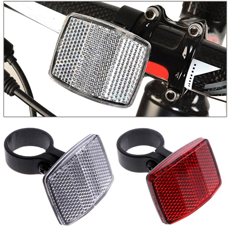 1PC Fitular Bicycle Handlebar Reflector Bike Front Rear Warning Light Useful