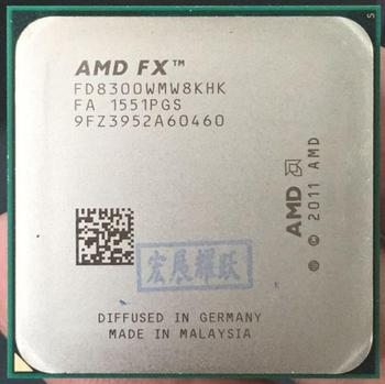 AMD FX-Series FX-8300 AMD FX 8300  Octa Core  AM3+ CPU Stronger than FX8300 FX 8300 100% working properly Desktop Processor