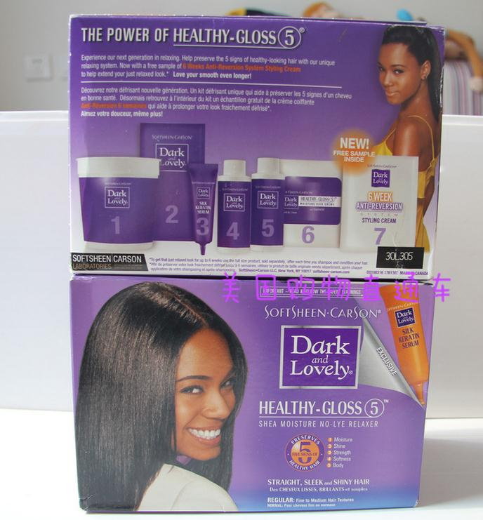 softsheen dark and lovely hair relaxer regular