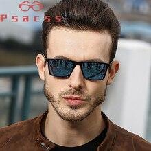Psacss Square Polarized Sunglasses Men Driving Sun Glasses M