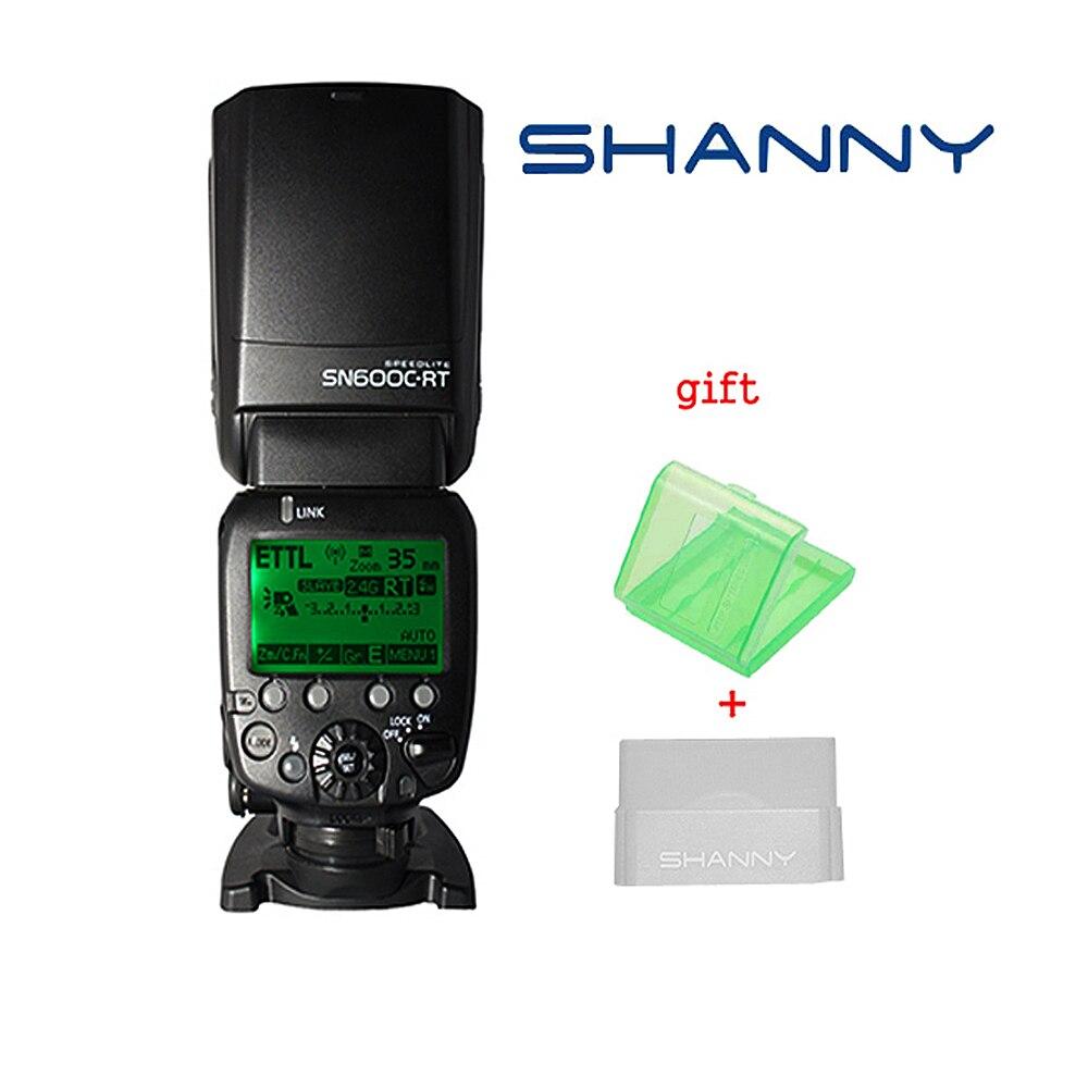 Shanny SN600C RT беспроводной радио управляемый ТТЛ прибор вспышка камера Speedlite для Canon RT 600EX RT Speedlite со встроенным радио