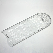 Traffic Template Command Ruler Accident Special Tool Police Multi function Drawing