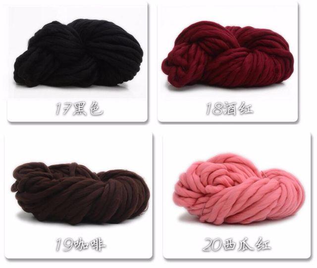 Tienda Online 250 g/lote Islandia Hilado de lana de hilo grueso para ...