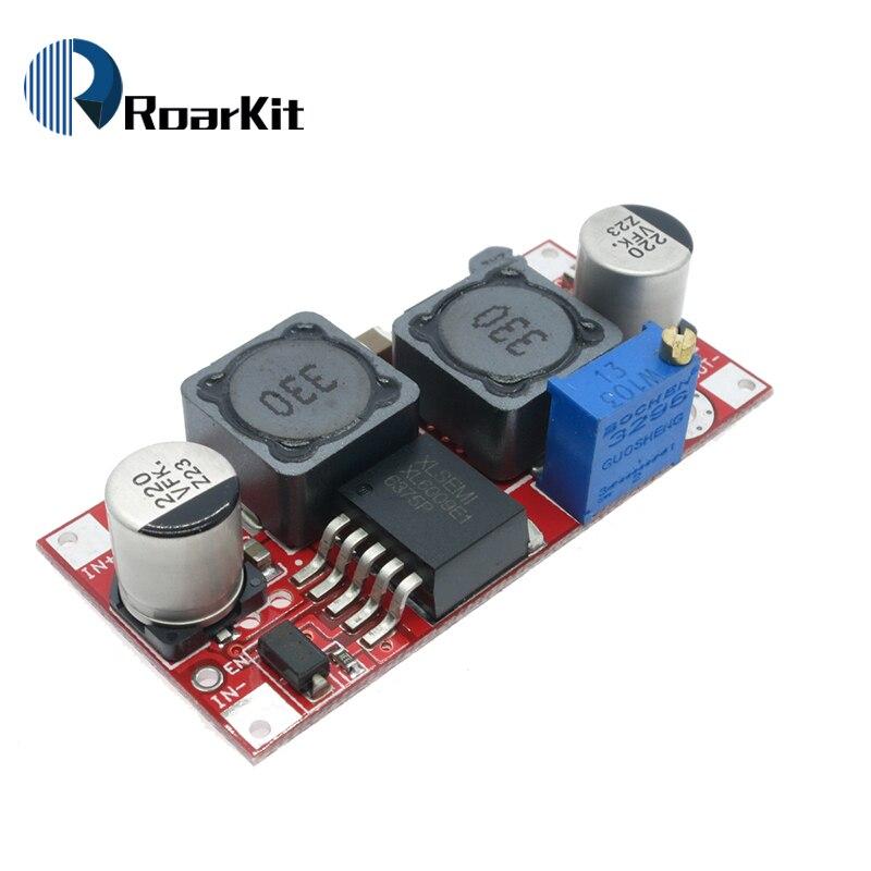 Boost buck DC-DC ajustável step up para baixo conversor xl6009 módulo de fonte de alimentação 20 w 5-32 v a 1.2-35 v alto desempenho