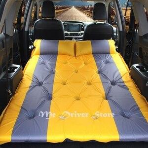 Image 5 - חדש אוטומטי מתנפח מיטת מכונית Hatchback נסיעות מיטת אוויר מזרן מכסה שאר עבור איביזה פולקסווגן גולף 4 פורד פיאסטה פוקוס 2 אופל אסטרה