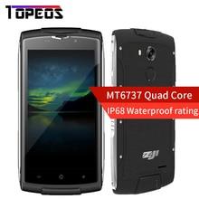 "Original 5""HOMTOM ZOJI Z7 MTK6737 IP68 A Prueba de agua Smartphone Quad Core Android 6.0 2 GB RAM 16 GB ROM de la Huella Digital 4G LTE 1280*720"