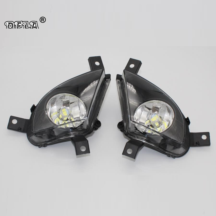 LED Light For BMW 3 Series E90 E91 328i 335d 323i 335i 320i 325i 328i xDrive 2008-2011 Car-styling Front LED Fog Lamp Fog Light canbus h7 led car headlight error free headlamp fog light for bmw e90 m3 m 320d 320i 318i 325i 328i 330d 330i 3 series 2005 2017