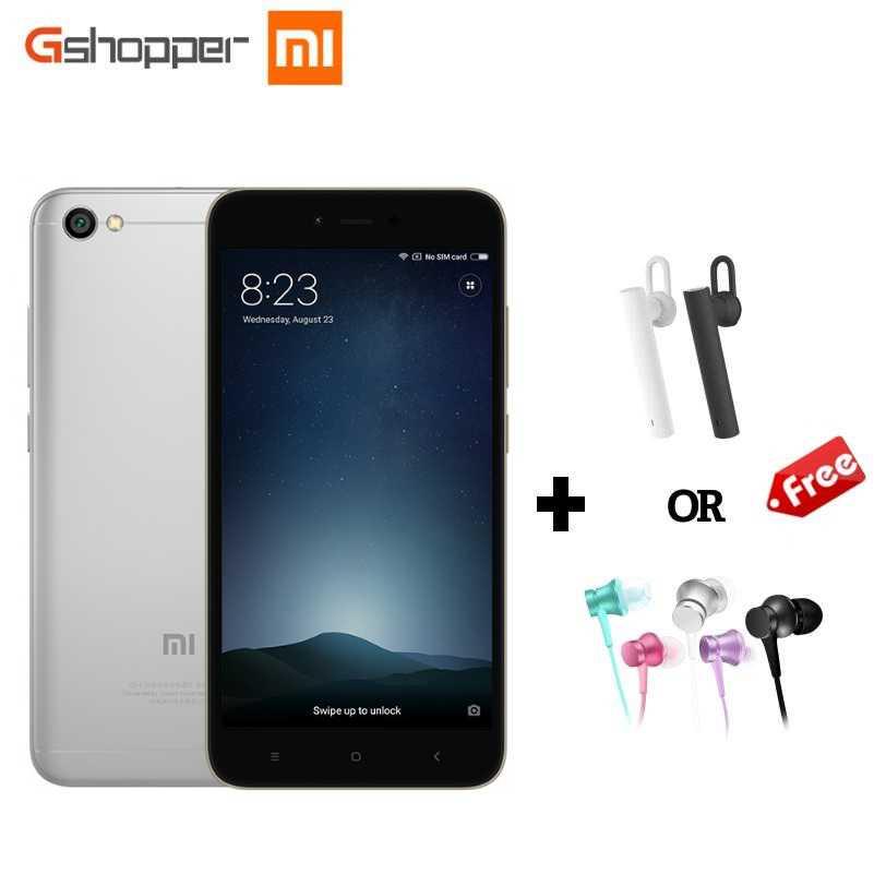 "Global Version Original Xiaomi Redmi Note 5A Prime 3GB 32GB Note5A Mobile Phone 5.5"" 16MP Octa Core Snapdragon 435 Smart Phone"