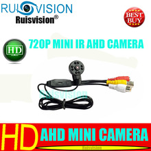 MINI HD AHD 720P/1.0MP Night Vision 940NM IR  cctv security camera for Home Security Surveillance video cam camera free shipping