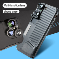 Dual Cameras Filter Mobilephone Lens For Iphone X 7 8 Plus Wide Angle Telephoto Fisheye Lens