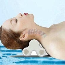 neck massager Cervical Traction Massage Neck Guard Pain Correction Stretching Cervix Support Home Adult Medical Care Tool