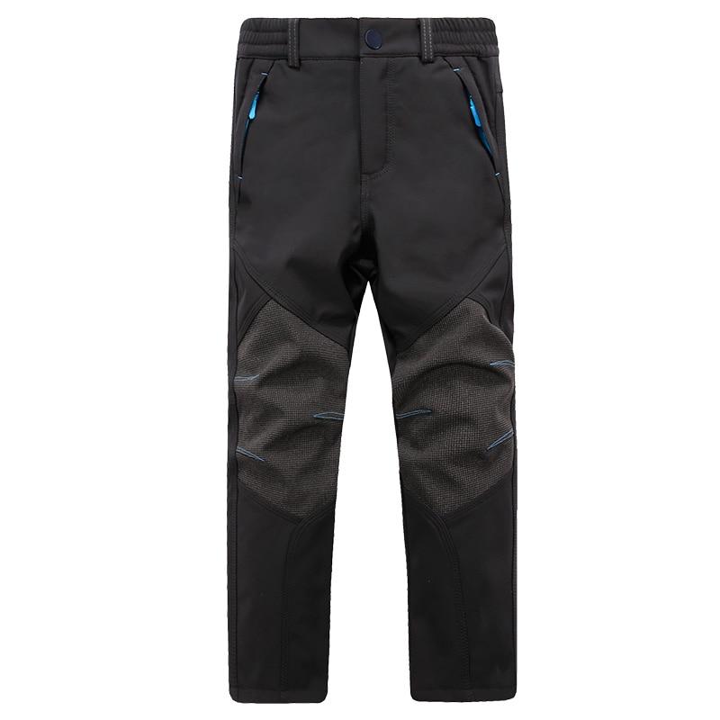 Enfants Charge Pantalon Style Saisir Sweat Pantalon Chaud Coupe-Vent - Vêtements pour hommes - Photo 3