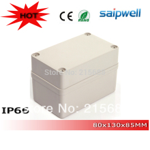2015 Most popular plastic outdoor small Waterproof Electrical Floor storage Box 80*110*85mm type DS-AG-0811-1
