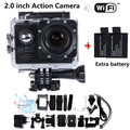 Add Batteries 2.0 inch LCD 14MP Action WIFI Camera Best selling Style 1080P HD DV Cam 30M Waterproof Sport mini Camara