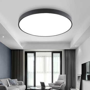 Lustres De Sala 2018 Special Offer Sale Ce Abajur Ultra-thin Led Ceiling Lighting Lamps For The Living Room For Modern High 6cm - Category 🛒 Lights & Lighting
