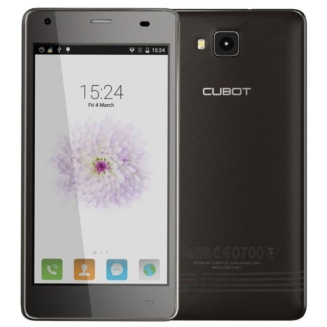Original CUBOT Echo MT6580 Quad Core Smartphone 2GB RAM 16GB ROM Android 6.0 Cell Phone 5.0 Inch 13.0MP 3000mAh Mobile Phone