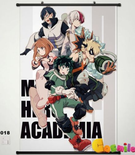 My Hero Academia Izuku Midoriya Home Decor Japanese Anime Wall poster Scroll
