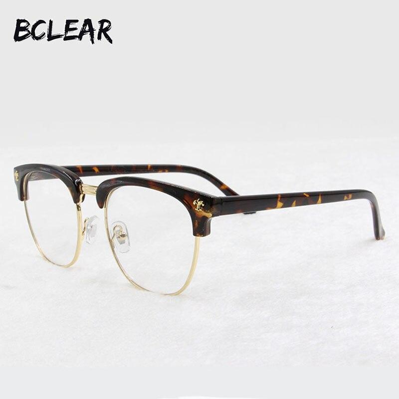 ₩Bclear nueva moda gafas Retro Vintage vidrios ópticos hombres ...