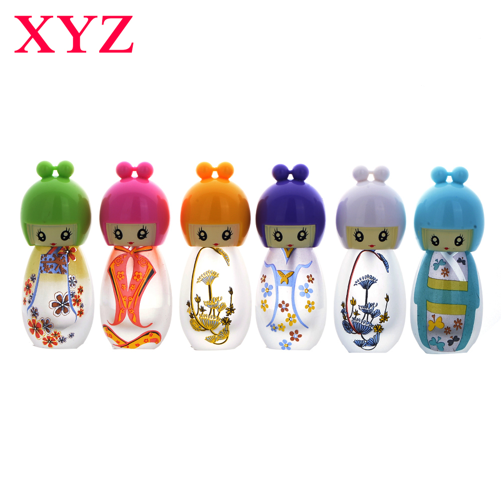 Hight Quality Girls 1 Pieces 20 ML Lovely Artwork Cute Girls Perfume Bottle Atomizer Cosmetic Refillable Travel Spray Bottles