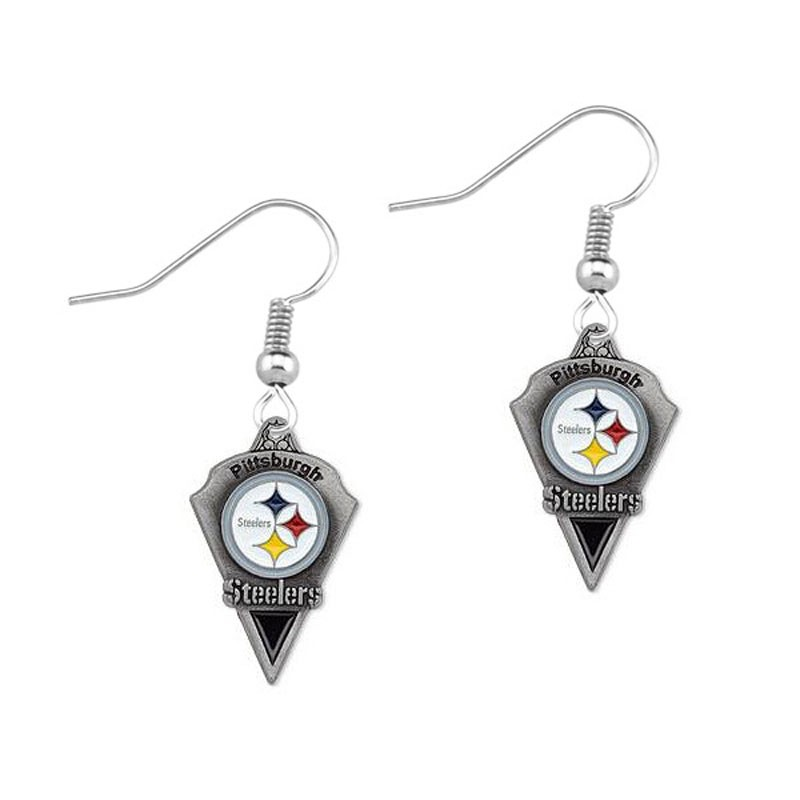 Pittsburgh Steelers creative new drip earrings