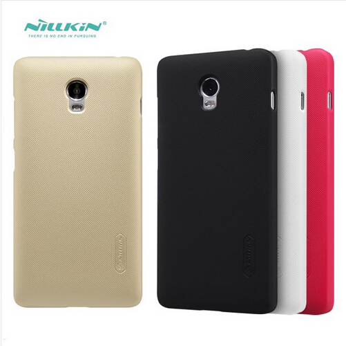 For Lenovo VIBE P1 Case Nillkin Frosted Shield Hard Back Cover Case For Lenovo VIBE P1 phone bags With Screen Protector