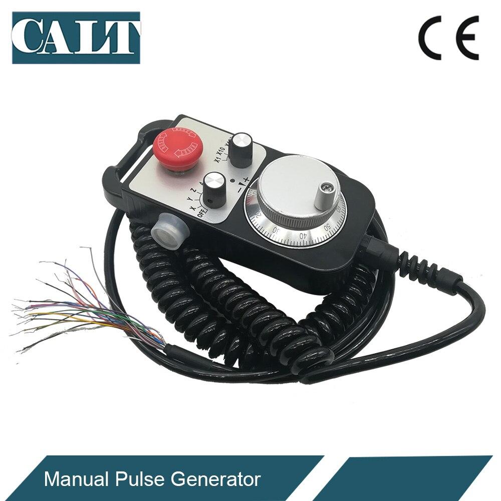CALT ЧПУ контроллер ручного колеса энкодер 6 осей MPG ручной импульсный генератор с E stop фрезерный станок TM1474 100BSL5 - 4