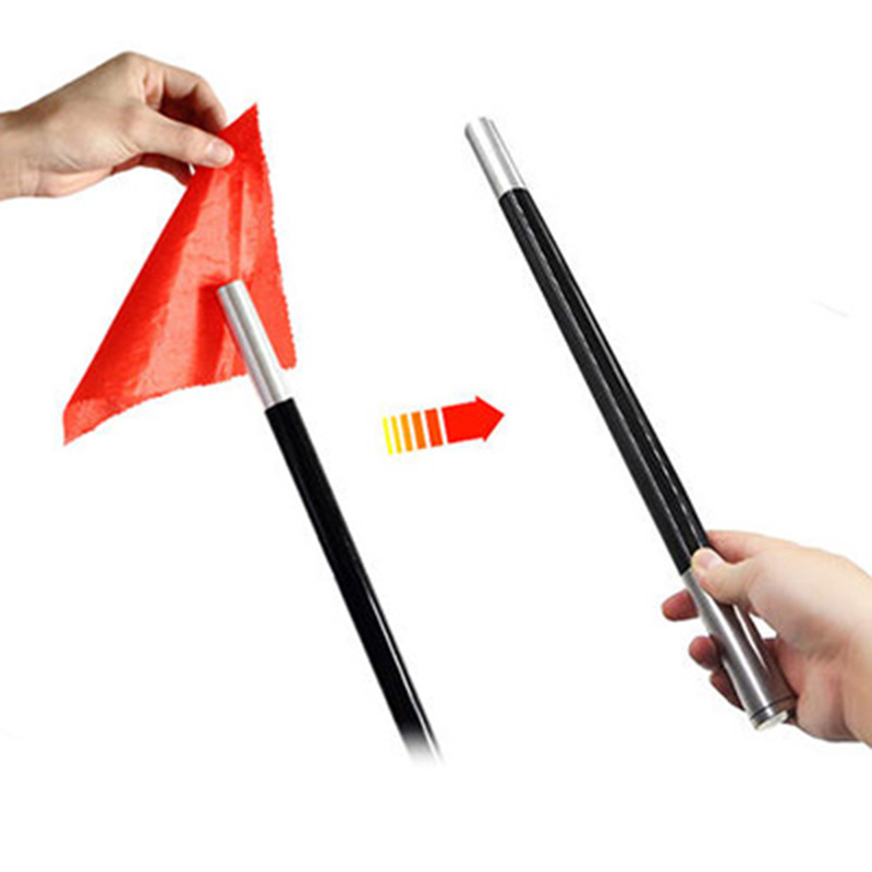 Vanishing Silk Wand/Cane Magic Tricks Disappearing Scarve Magia Stage Accessories Props Gimmick Mentalism Commedy Funny