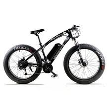 Electric bicycle 48 V 500 W 10 AN 27 speed 26″X 4.0 powerful electric fat bike Lithium Battery  Off road bike