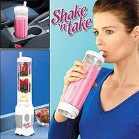 EU AU US UK Plug Shake N Take Juice Machine Multifunctional Mini Electricity Juicer Pocket Sports