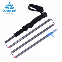 AONIJIE Walking Sticks Folding Hiking Stick Carbon Light Trekking Poles Nordic Walking Poles Stick Running Hiking
