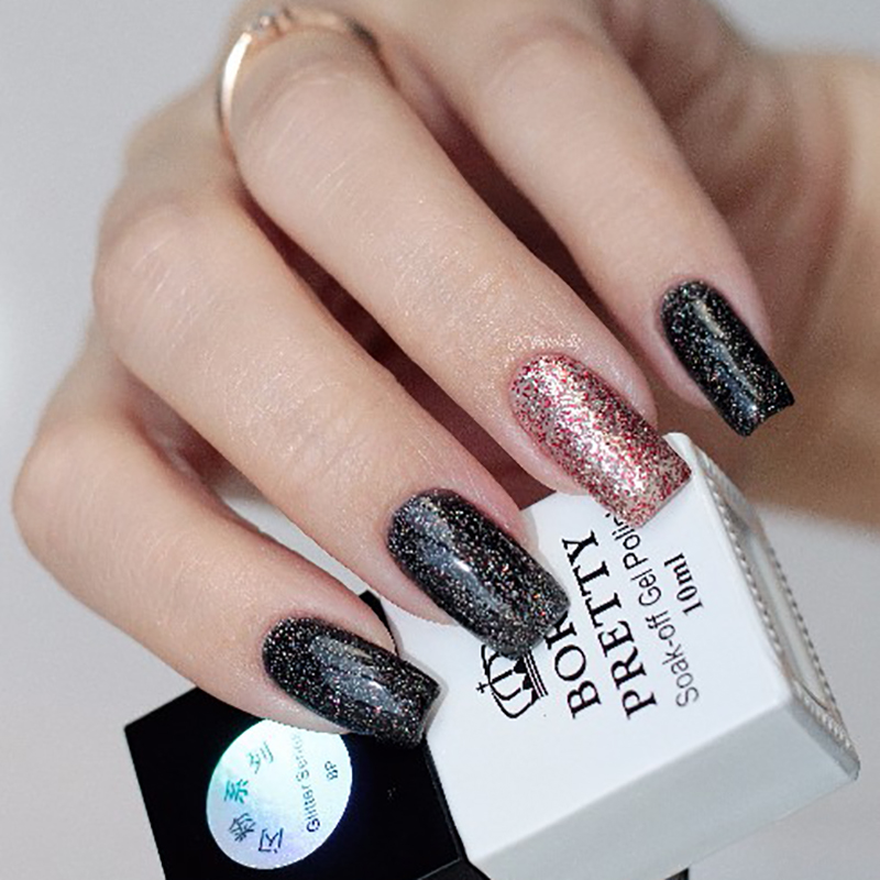 Black And Rose Gold Nails | Best Nail Designs 2018