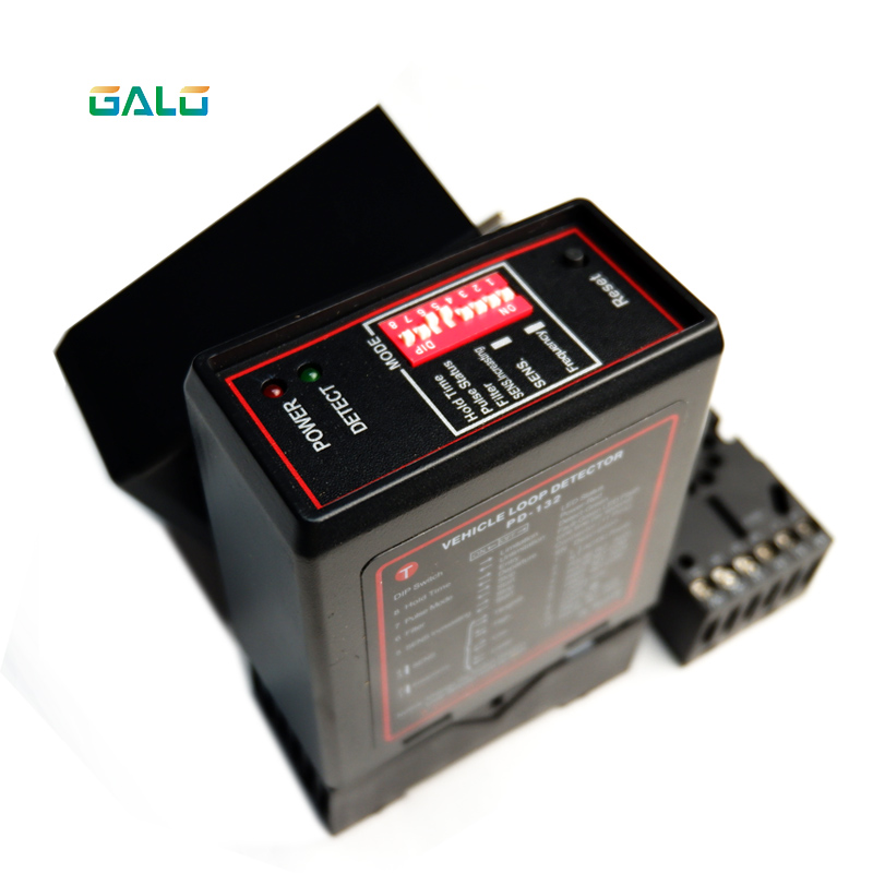 Single Channel Vehicle Loop Detector(input Voltage:12/24/110/220v) For Automatic Parking Gate And Door Openers,car Parking